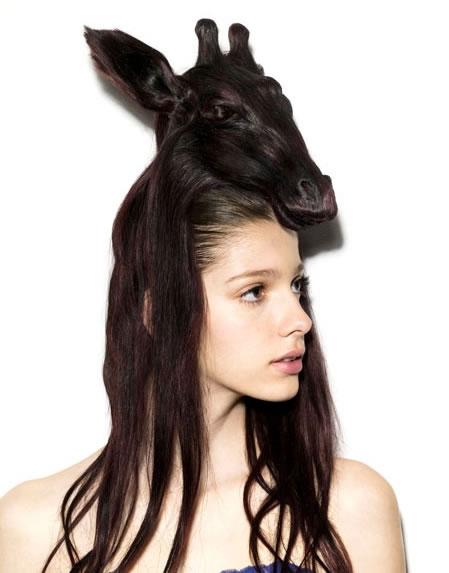 Amazing Animal Shaped Hairstyles By Nagi Noda 9