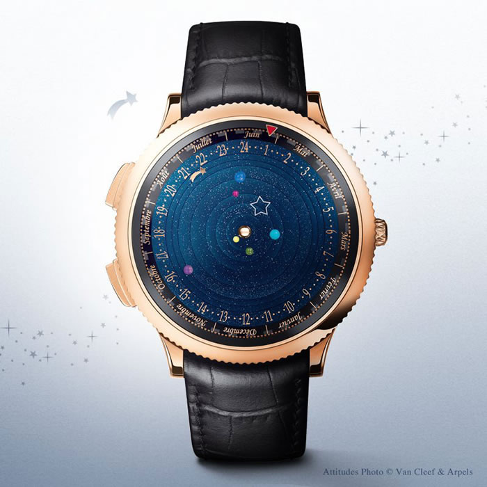 Amazing Luxury Watch Shows Planets Orbiting The Sun 1