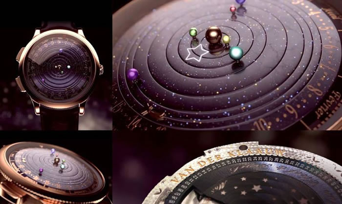 Amazing Luxury Watch Shows Planets Orbiting The Sun 3