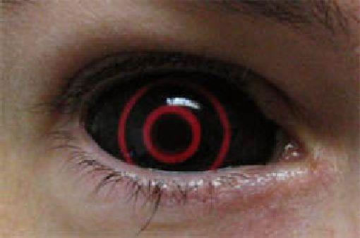 crazy and cool contact lenses that people actually wear