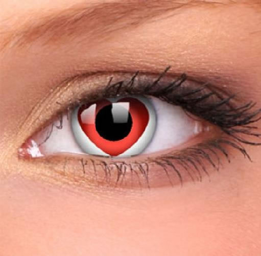 heart Contacts That People Actually Wear 17