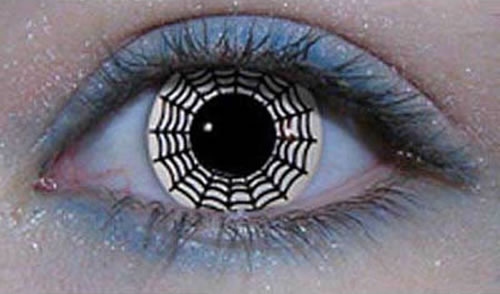 Spider Web Lenses That People Actually Wear 9