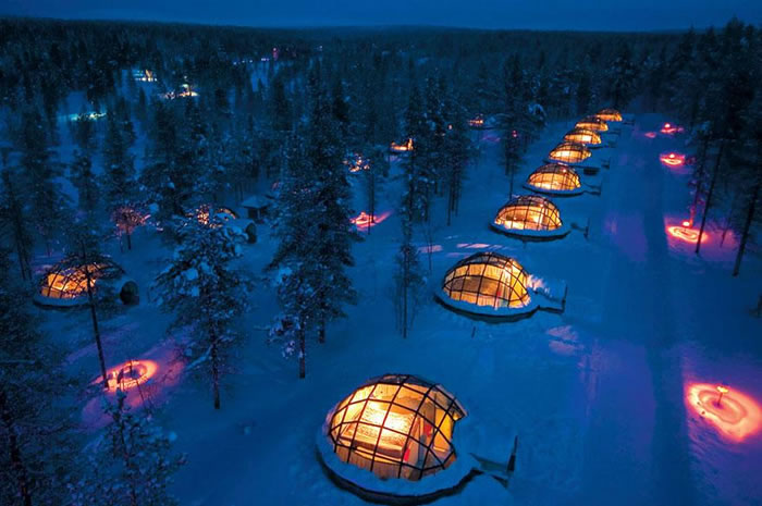 Hotel Kakslauttanen, Finland - 24 Amazing Hotels You Should Visit Before You Die