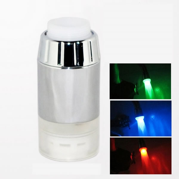 LED Faucet Valve Night Light