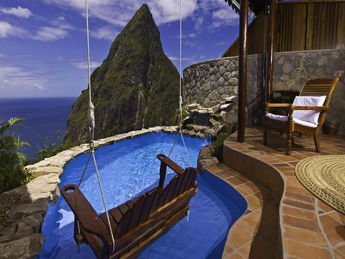 Ladera Resort, St. Lucia - 24 Amazing Hotels You Should Visit Before You Die