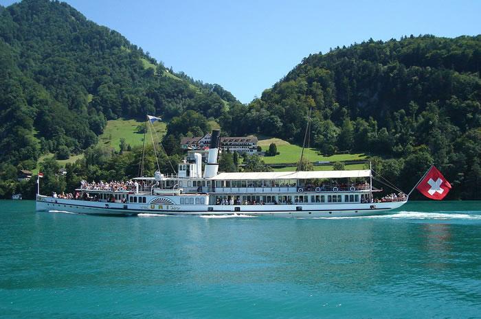 Planning A European Tour - Lake Lucerne, Switzerland