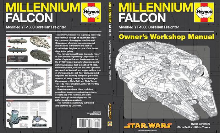 Millennium Falcon Owner's Workshop Manual - Haynes Car Repair Workshop Manual For Star Wars And Star Trek Ships