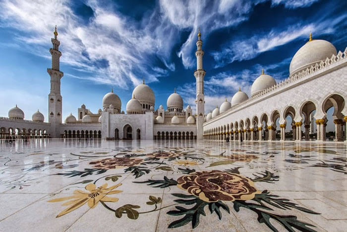 Spectacular High Resolution Pictures Of The Grand Mosque In Abu Dhabi 1