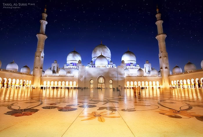 Spectacular High Resolution Pictures Of The Grand Mosque In Abu Dhabi 11