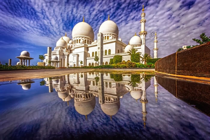Spectacular High Resolution Pictures Of The Grand Mosque In Abu Dhabi 13