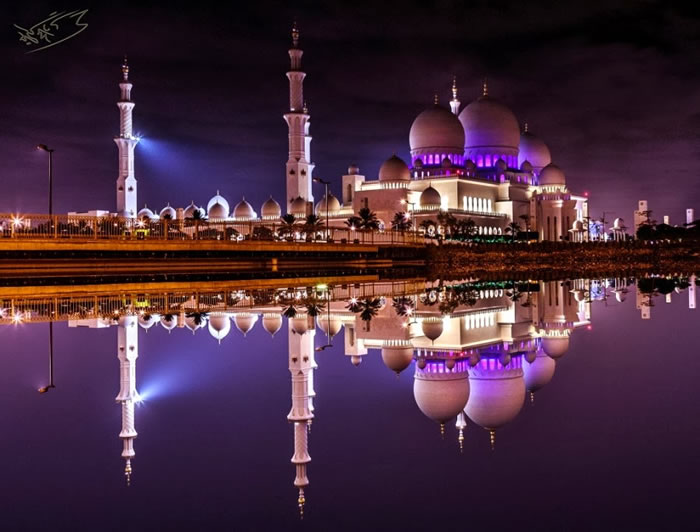Spectacular High Resolution Pictures Of The Grand Mosque In Abu Dhabi 2