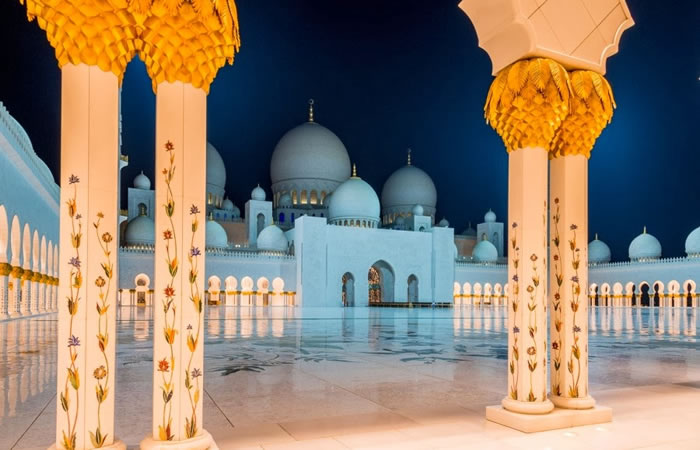 Spectacular High Resolution Pictures Of The Grand Mosque In Abu Dhabi 3