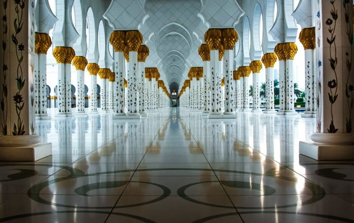 Spectacular High Resolution Pictures Of The Grand Mosque In Abu Dhabi 4