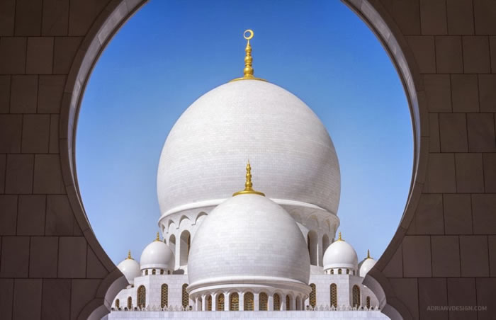 Spectacular High Resolution Pictures Of The Grand Mosque In Abu Dhabi 5