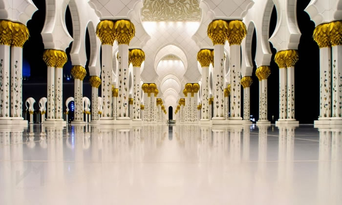 Spectacular High Resolution Pictures Of The Grand Mosque In Abu Dhabi 6