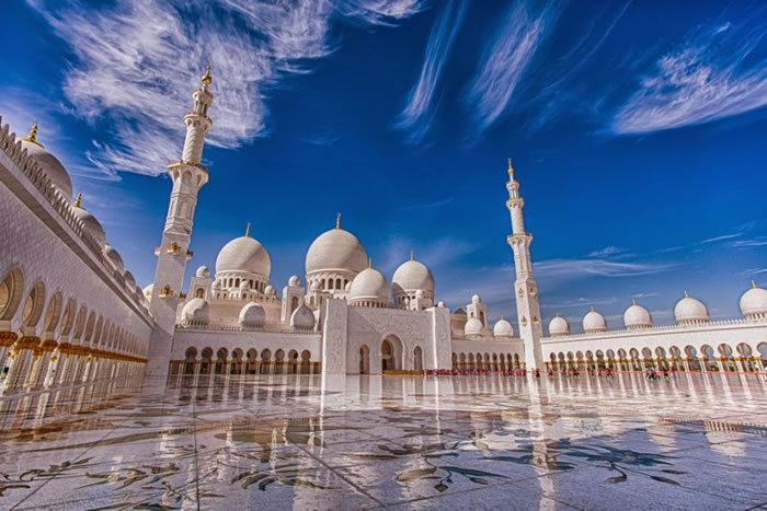 Spectacular High Resolution Pictures Of The Grand Mosque In Abu Dhabi 7