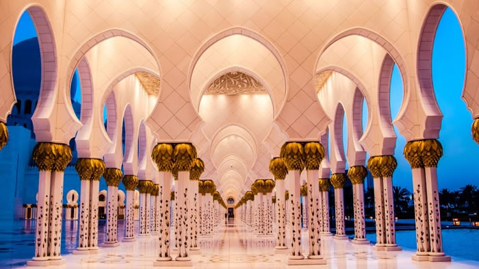 Spectacular High Resolution Pictures Of The Grand Mosque In Abu Dhabi 8