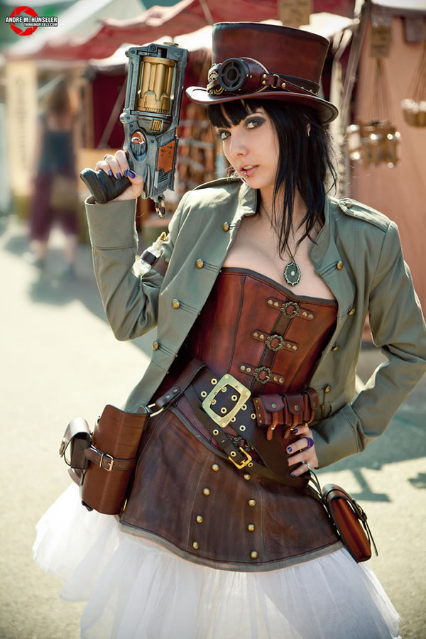 Steampunk Girl Costumes 50 Amazing Sexy Outfit Ideas (7)