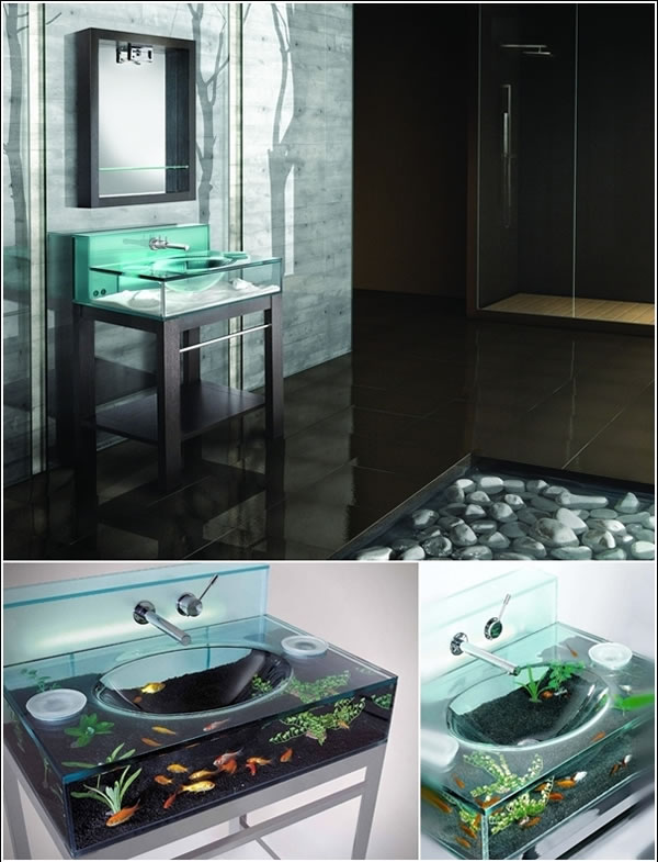 10 Amazing Custom Sinks For Your Bathroom And Kitchen (10)