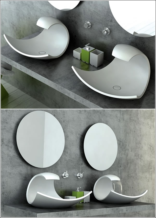 10 Amazing Custom Sinks For Your Bathroom And Kitchen (3)