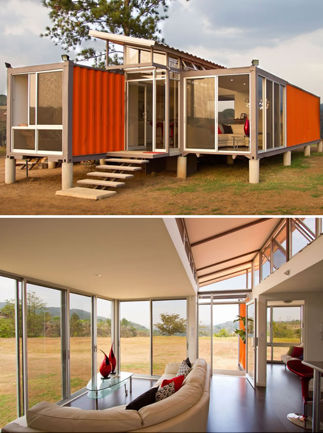 15 Shipping Containers Turned Into Designer Homes 1