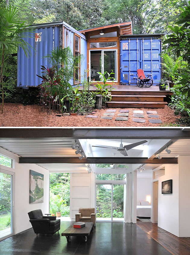 90 miles from tyranny 15 shipping containers turned into Containers turned into homes