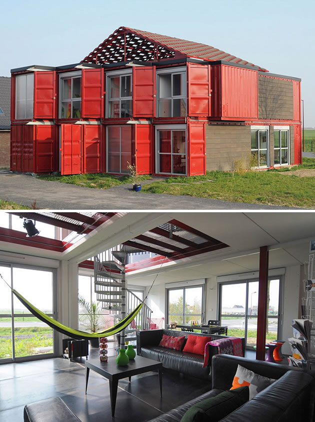 15 Shipping Containers Turned Into Designer Homes 4