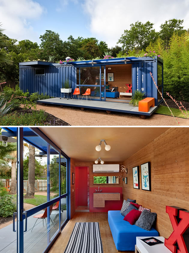 Living In A Shipping Container 15 shipping containers turned into designer homes