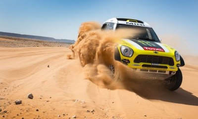 2013 Mini Countryman All4 Rally Car Dakar Winner Driven By Jay Leno