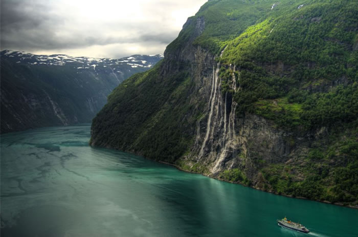 3 seven sisters waterfall - 21 Reasons To Visit Norway Before You Die
