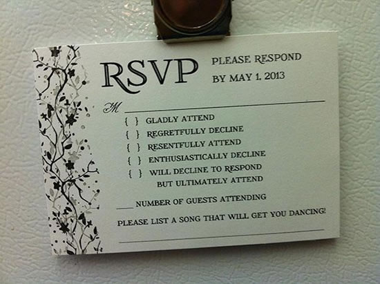 4 Funny Wedding Invitation Top 20 Hilarious Cards (3)