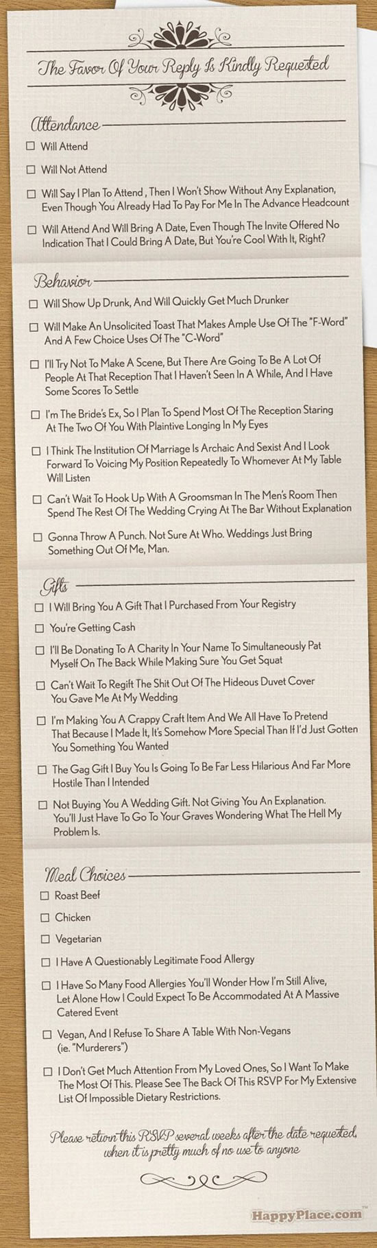 4 Funny Wedding Invitation Top 20 Hilarious Cards (6)