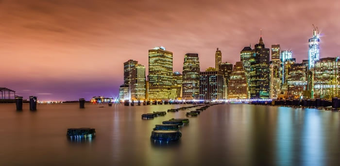 7. Classic NYC - Amazing New York Stock Photos Taken At Night