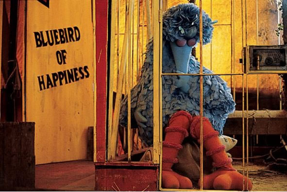 Big Bird is kidnapped Follow that Bird - 21 Most Traumatizing Moments From 80's Children Book Story Films