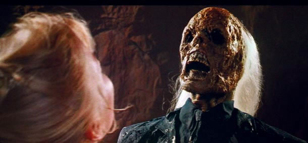 Indiana Jones last-crusade Skeletonised face - 21 Most Traumatizing Moments From 80's Children Book Story Films