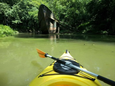 Kayaking Adventures - Amazing 110 year Old Ghost Ship Discovery (1)