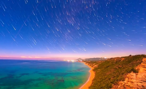 Magical Timelapse Video Footage Of Corfu - A Company of Stars