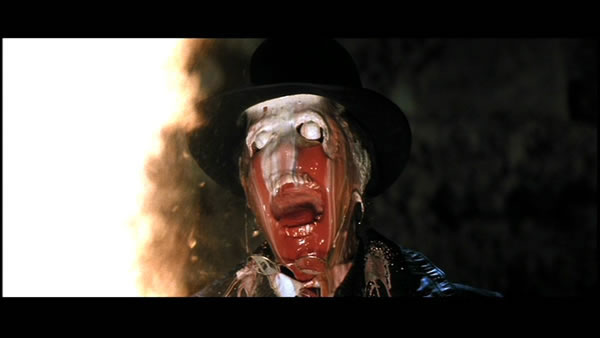 Nazi melt down Raiders-of-the-Lost-Ark-indiana-jones - 21 Most Traumatizing Moments From 80's Children Book Story Films
