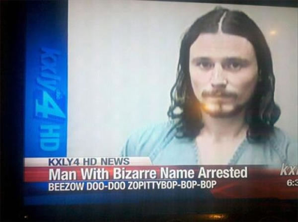 People Who Need To Seriously Consider A Name - Beezow Doo-Doo Zopittybop-bop-bop