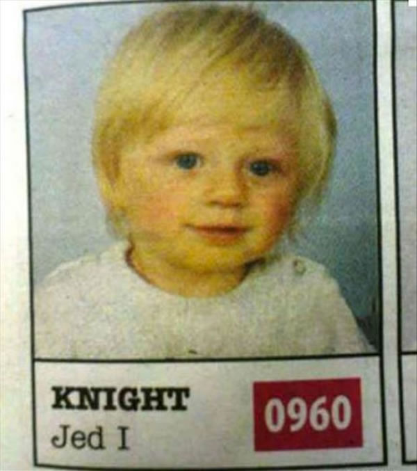 People Who Need To Seriously Consider A Name - Jed I Knight