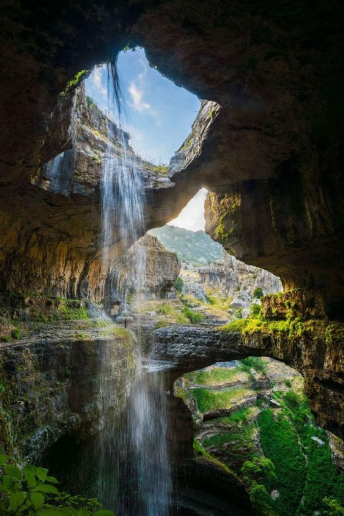 Waterfall Baatar, Lebanon
