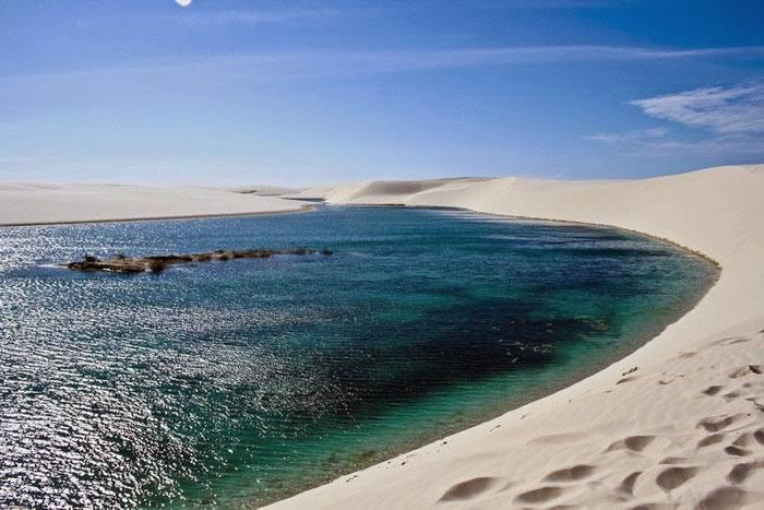 White Sands Lencois Maranhenses, Brazil