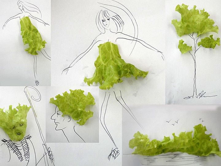 Creative 3d Illustrations Made From Household Objects 3