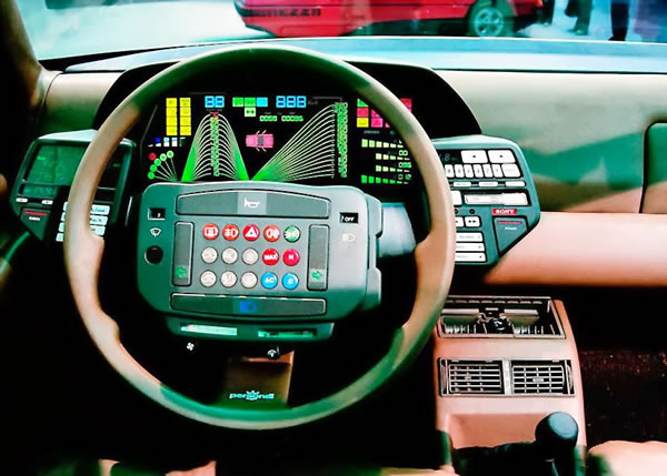 10 Of The Most Outrageous Dashboards In Cars 6