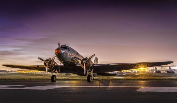 11. DC-3 Sunrise