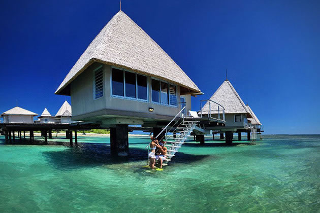 12 Overwater Bungalow Vacations You Should Take Before You Die 11