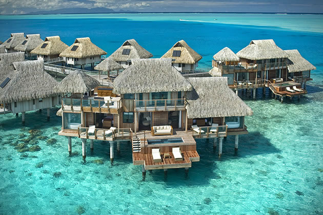 12 Overwater Bungalow Vacations You Should Take Before You Die 9