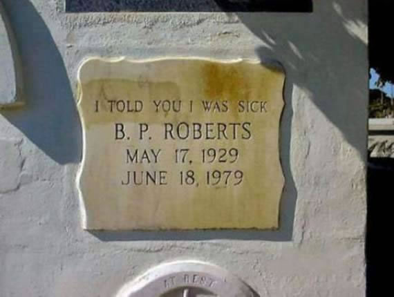 20 Of The Most Funniest Headstones That people Were Buried With (21)