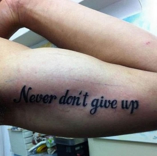 24 Funny Tattoos Gone Horribly Wrong 1