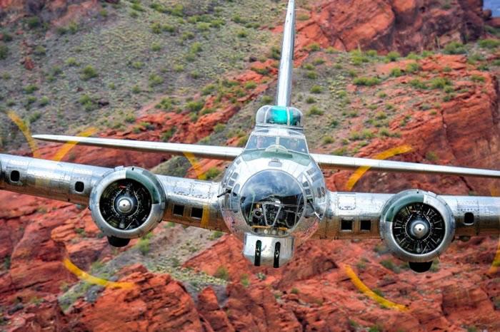 8. Boeing B-17 Bomber